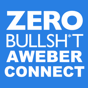 Zero BS CRM: AWeber Connect