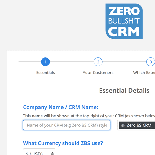 Four easy steps to setting up your CRM in WordPress