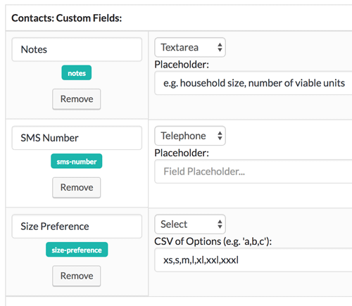 Custom Fields in Zero BS CRM